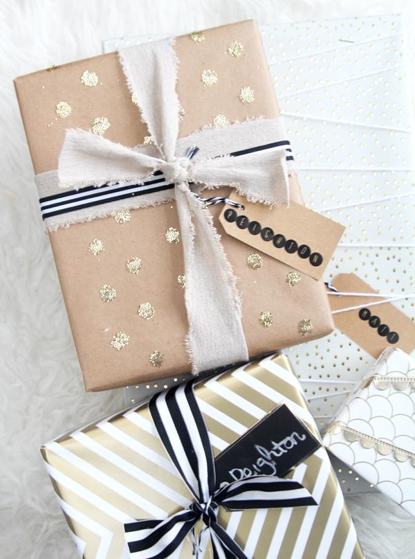 gold-confetti-dot-gift-wrap
